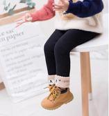 女寶寶棉褲冬季新款1-3歲兒童加絨加厚打底褲女童外穿保暖褲絨褲0  提拉米蘇
