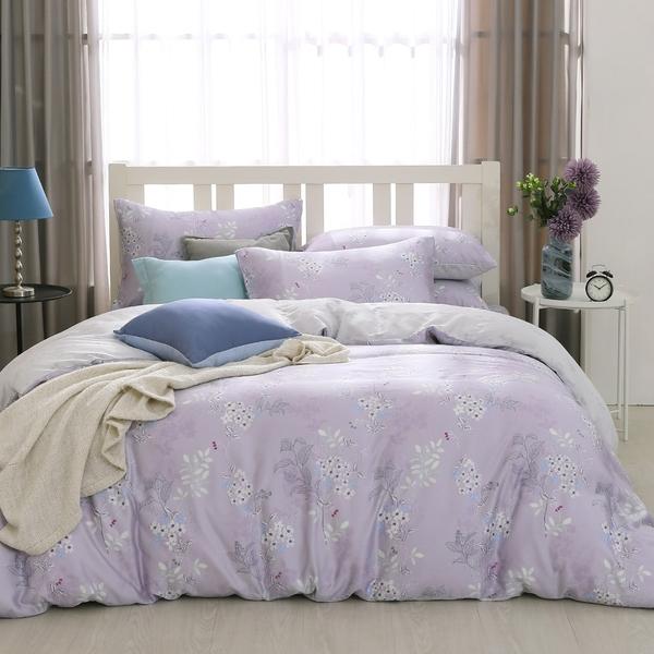 鴻宇 雙人鋪棉兩用被套 天絲 萊賽爾 紫韻 台灣製T20101