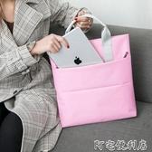 時尚商務女包休閒簡約防水手提單肩A4資料袋檔公事包電腦包男女(聖誕新品)