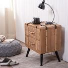 ‧ 鐵製腳座,堅固耐用 ‧ 杉木材質主體,商品本身散發杉木木質香味 ‧ 可當沙發邊桌或床邊桌使用