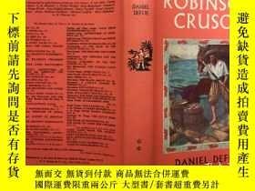 二手書博民逛書店Robinson罕見Crusoe (Dent's childre