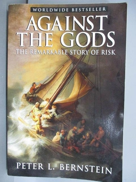 【書寶二手書T2/原文小說_PCA】Against The Gods_Peter L. Bernstein