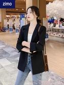 西裝外套小西裝外套女2020春秋裝網紅新款職業上衣韓版寬鬆英倫風休閒西服 交換禮物