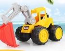 挖掘機玩具 兒童沙灘玩具車大號工程車推土...