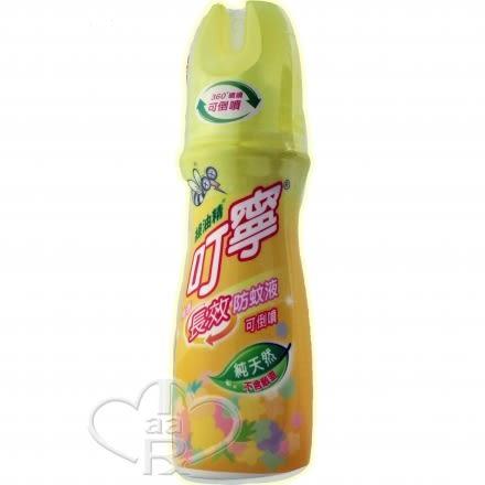 綠油精叮寧長效防蚊液(柚香)120ml【媽媽藥妝】可倒噴