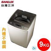 【SANLUX 台灣三洋】9kg 定頻單槽洗衣機《ASW-96HTB》省水
