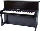 KAWAI【日本代購】河合 迷你鋼琴 兒童鋼琴 32鍵 日本製 1151-黑色