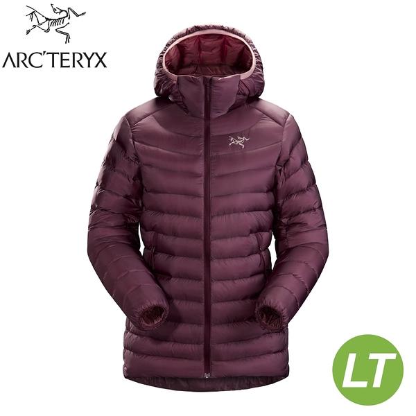 【ARC'TERYX 始祖鳥 女 Cerium LT 羽絨外套《狂想紫紅》】26125/保暖外套/羽絨衣/輕羽絨