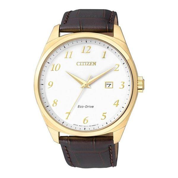 【分期0利率】CITIZEN 星辰錶 光動能 男錶 皮帶 父親節 情人節 送禮 全新原廠公司貨 BM7322-06A