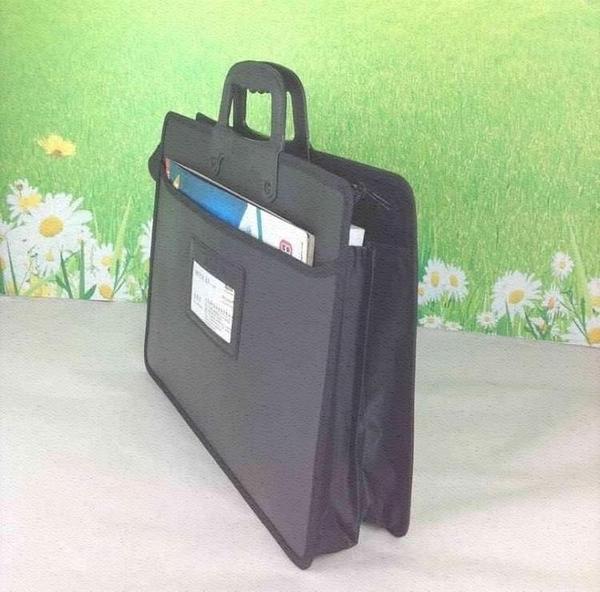 公事包 手提包電腦包公文包商務型會議包業務四層公事包男