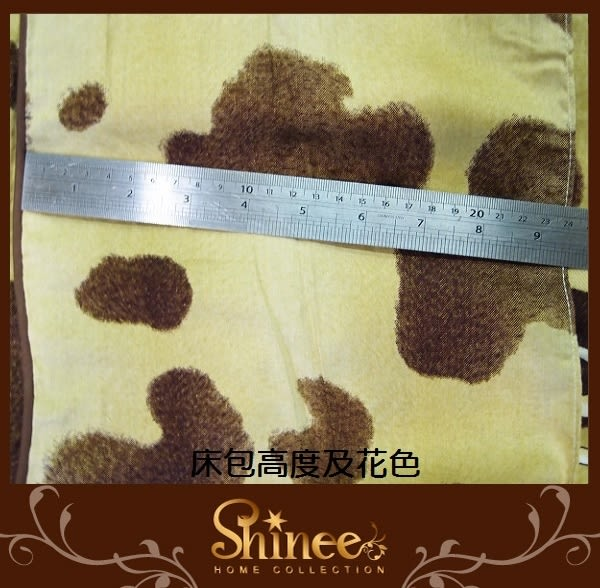 原價1980元↘SHINEE 台灣製 100%精梳棉(溫馨夢園)加大雙人床包三件組(床包x1+枕套x2)(180X186CM)