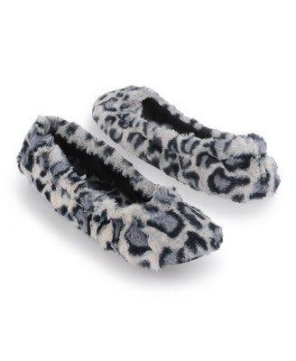 (BJGO) FOREVER 21_Fuzzy Leopard Slippers 性感豹紋毛毛室內拖鞋  (新品現貨S/M)
