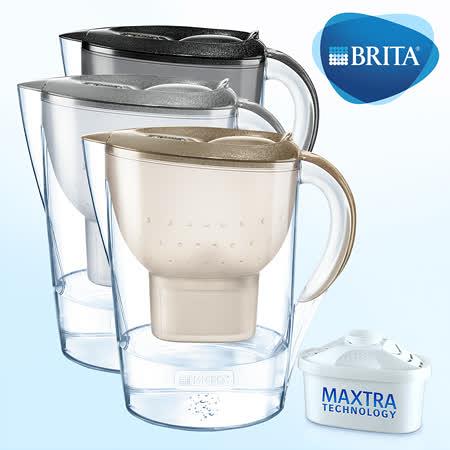 德國BRITA 馬利拉星燦濾水壺(限量版)含一濾水壺+兩濾芯