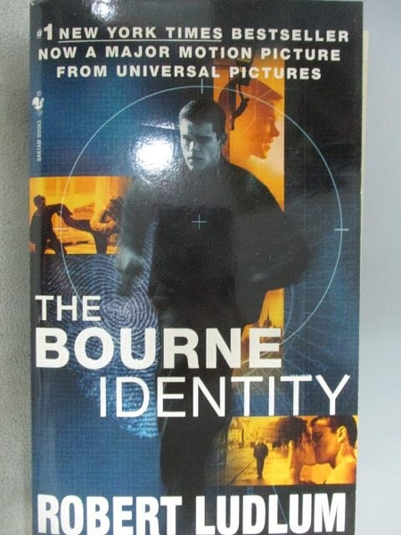 【書寶二手書T1/原文小說_MNT】The Bourne Identity_Robert Ludlum