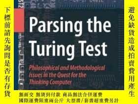 二手書博民逛書店Parsing罕見The Turing TestY255562 Epstein, Robert; Robert