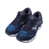 MIZUNO WAVE HORIZON 4慢跑鞋 深藍黑 J1GC202603 男鞋
