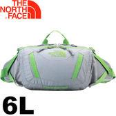【The North Face Tiga Lumbar  6L 戶外多功能腰包〈灰/綠〉】CE63/腰包/功能包/運動包★滿額送