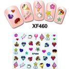 美甲貼紙  XF460  鑽石冰淇淋  (帶背膠美甲貼紙)   想購了超級小物