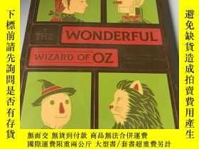 二手書博民逛書店the罕見wonderful wizard of ozY2187