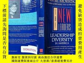 二手書博民逛書店英文版罕見THE NEW LEADERS: LEADERSHIP