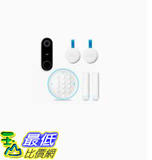 [8美國直購] Nest Secure Alarm System and Nest Hello Video Doorbell Bundle