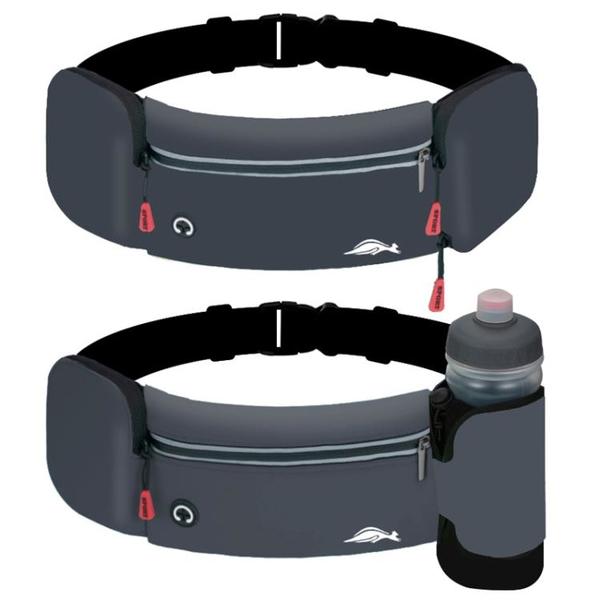 跑步腰包男女戶外馬拉松健身裝備多功能水壺包運動防水腰帶手機包 小艾新品