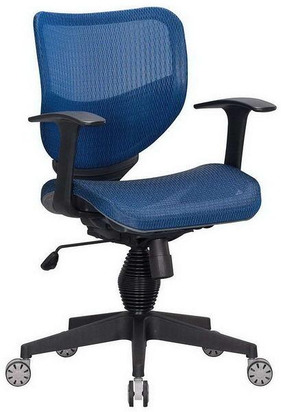 HP362-10 全網椅TS-080/藍網/氣壓+後仰