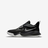 Nike Zoom Flight 2 GS [DB6708-002] 大童 籃球鞋 魔鬼氈 包覆 緩震 氣墊 黑