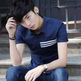 夏季流行印花襯衫修身青年時尚襯衫LJ4801『miss洛羽』