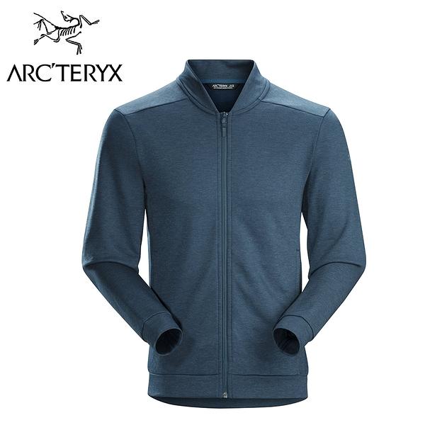 Arc\'\'teryx 始祖鳥 DALLEN 保暖刷毛外套 夜鷹藍 男款 #21738