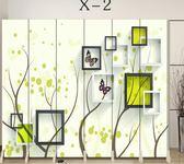 屏風簡易隔斷時尚簡約現代歐式房間辦公客廳隔斷牆 萬客居