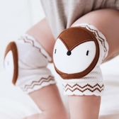 韓版卡通夏季新款純棉兒童護膝寶寶爬行膝蓋護墊透氣網眼襪套