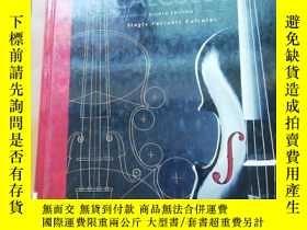 二手書博民逛書店美國原版進口罕見單變量微積分第八版 Single Variable Calculus 8th Edition by