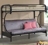 小戶型折疊床鐵床單人雙層床成年loft鐵藝高架床樓閣省 【熱賣新品】 LX