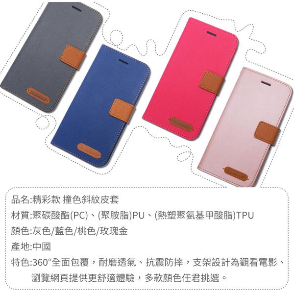●Apple蘋果 iPad 10.2吋 2019 精彩款 平板斜紋撞色皮套 A2197 A2200 A2198 休眠 可立式 側掀 保護套 平板套