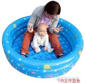 盈泰兒童充氣海洋球池加厚嬰兒游泳池寶寶釣魚玩具洗澡圍欄波波球【蘇荷精品女裝】IGO