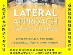 二手書博民逛書店Lateral罕見Approach To Taking Charge: Simple Principles For
