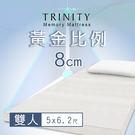TRINITY 黃金比例床墊8cm(雙人...