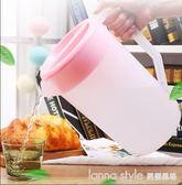 冷水壺透明帶刻度塑料耐高溫涼水杯pp大容量耐熱家用2000 5000ml  LannaS