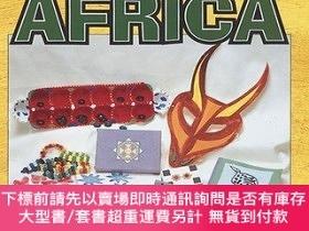 二手書博民逛書店Traditional罕見Crafts from Africa (Culture Crafts)-非洲傳統工藝(文