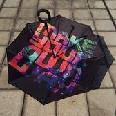 韋德行雨傘韋德之道雨傘自動伸縮三折反向傘遮陽雨傘   潮流前線