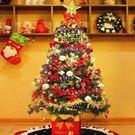 1.5m聖誕樹 聖誕節裝飾品 豪華套餐 附配件+電池彩燈 【藍星居家】