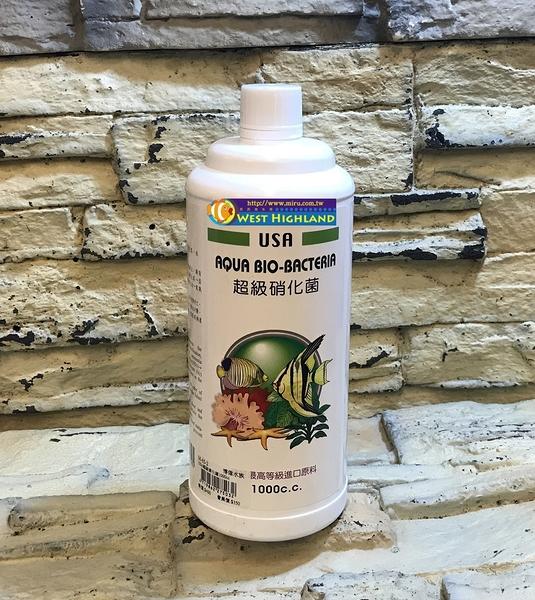 【西高地水族坊】Mr.Aqua代理 美國USA-超級硝化菌(1000ml)