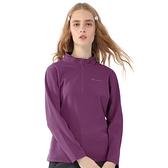 【TAKAKA】女 黃金絨立領保暖衣『高貴紫』Z52253 戶外 休閒 運動 露營 上衣 吸濕排汗 透氣 長袖