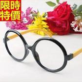 眼鏡架-文藝百搭復古圓框男女鏡框8色67ac16【巴黎精品】