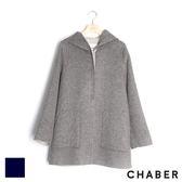 羊毛連帽厚外套 巧帛Chaber