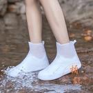 兒童成人防水防滑雨鞋套時尚【橘社小鎮】