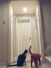 寵物圍欄寵物籠 寵物門欄圍欄隔離柵欄防護欄桿防貓跳家用室內籠子TW【快速出貨八折搶購】