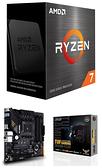 【自組DIY兩件組R58】AMD R7 5800X+華碩 TUF GAMING B550M-PLUS