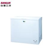 【三洋家電】261L 掀蓋式腳輪 冷凍櫃 《SCF-261WE》(含拆箱定位、不含舊機回收)